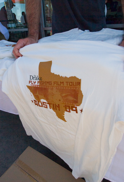 Fly Fishing Film Tour: Austin T-Shirt :: Still available for purchase!  Call 214-219-2500