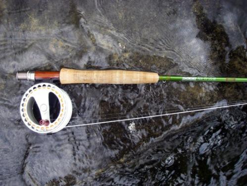 My Sage 590 TCX wtih a Waterworks ULA 3. Photo by: Bart Larmouth