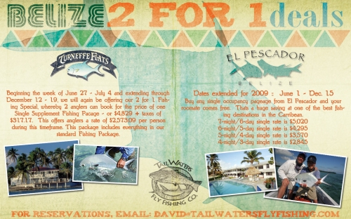 Belize Travel Specials