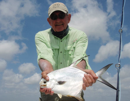 Mr. Dennis Hilton with First Permit.  What's the big deal about this Permit thing?  Photo by:  David Leake
