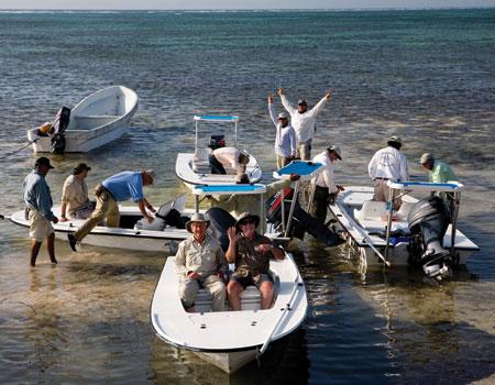 Heading out for day on Espiritu Santo.  Photo by:  David Leake