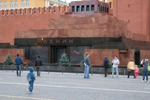 Lenin's Tomb. Photo by: Brent Boone
