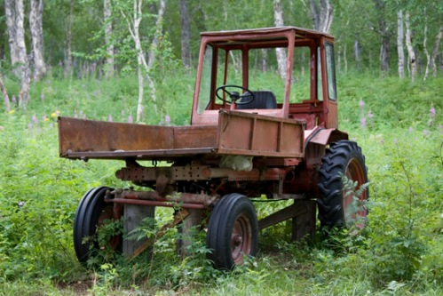 Lodge Tractor, Still Runs! Photo by: Brent Boone
