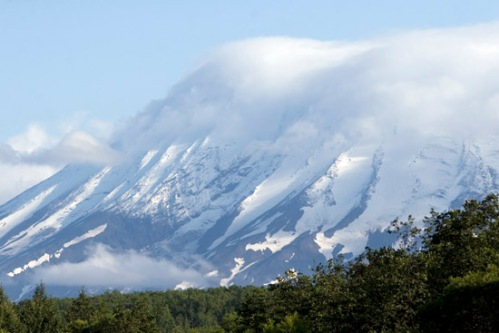 Zhupanovsky Volcano. Photo by: Brent Boone.