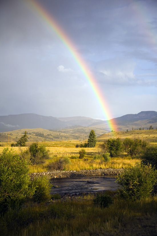 Colorado Rainbow.  Photo by:  David Leake